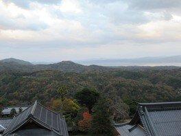宍道湖からの眺め