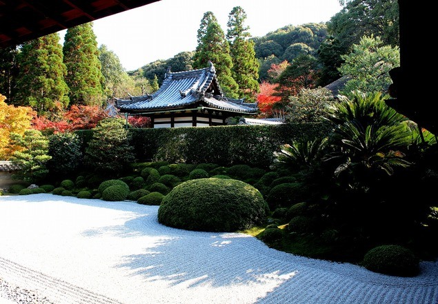 江戸時代の禅苑庭園「方丈庭園 南庭」