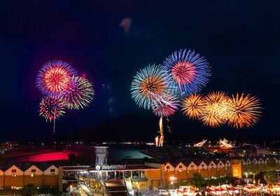 鹿児島市制130周年記念 第19回かごしま錦江湾サマーナイト大花火大会
