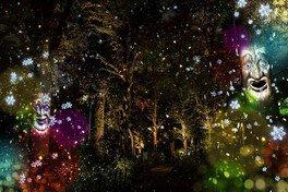 チューリップロードに木の精やおばけたちが出現 ※画像はイメージ