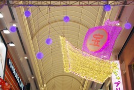 戎橋筋商店街 縁起物イルミネーション(大阪ミナミ 光マッセ2020)画像(3/3)