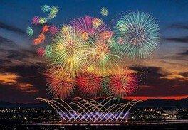 「令和」改元記念 第32回やつしろ全国花火競技大会 画像(4/4)