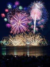 姫路港開港60周年記念 第41回姫路みなと祭 海上花火大会 画像(2/5)