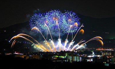 【2020年開催なし】玉名納涼花火大会