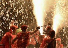 新居諏訪神社奉納煙火祭礼(遠州新居手筒煙火) 画像(4/4)