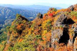 霊山県立自然公園の紅葉 画像(2/2)