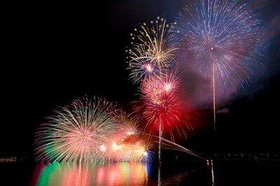 【2020年中止】宮津燈籠流し花火大会