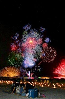 【2020年開催なし】若狭高浜花火大会