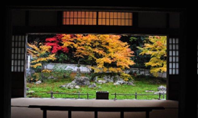 宗鏡寺の本堂からの眺め