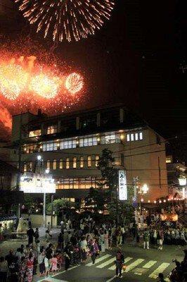 【2020年開催なし】戸倉上山田温泉夏祭りと煙火大会