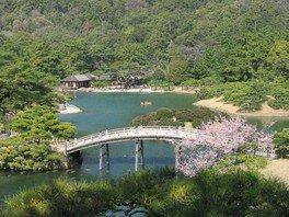 特別名勝 栗林公園の桜 画像(2/5)
